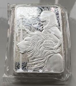 Una & the Lion 10 oz Silver Bar