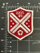 Axis 41 Logo Patch Soccer Football Puma Jersey Shield Patch Enterprise Marketing