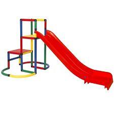 Moveandstic Easy Starter mit Rutsche Baukasten Kletterturm Spielturm für Kinder