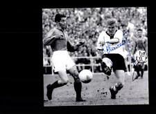 Schnellinger und Marcel Frankreich WM 1958 Foto Original Signiert+A 150618