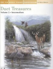 Piano Duet Treasures Vol 2 Intermediate Adult Helen Marlais Tango Clair De Lune