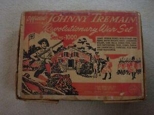 Marx 3402 Johnny Tremain Revolutionary War Play Set / Original Box ( Box Only )