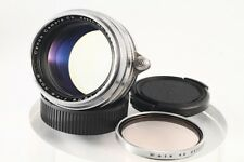 """Exc+"" Canon 50mm F/1.5 chrome Leica LTM 39 Lens, w/Filter From Japan#1238"