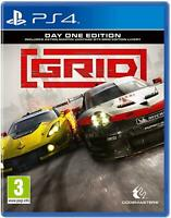 *NEW* GRID (PS4, 2019) English,German,Italian,Portuguese,French,Polish,Spanish