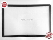 "15.4"" Apple Unibody Macbook Pro A1286 Cover Front Glass Screen Lens only"