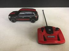 WebRC Mini JCW RC Car (1:24 Scale) Black - Red Stripes - Fast Shipping - READ!