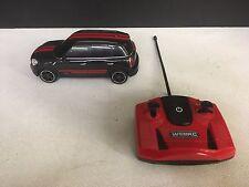 WebRC Mini JCW RC Car (1:24 Scale) Black - Red Stripes - Fast Shipping - READ!
