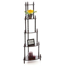 PREMIUM  CORNER STAND RACK SHELF 5 TIER