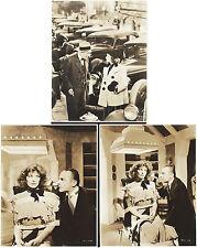 "BRINGING UP BABY 1938 FROM KATHARINE HEPBURN'S SCRAPBOOK! 5 PHOTOS 7.5"" X 9.5"""