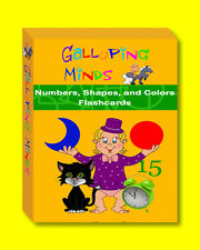 Numbers, Shapes, Colors, Christmas GIFT, BEAUTIFUL FLASH CARDS, Baby, Toddler
