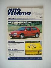 AUTO EXPERTISE n°162 VW GOLF 1992  berlines 3 & 5 portes- essence & diesel