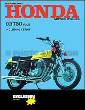 1969-1976 Honda CB750 and CB750F Shop Manual CB 750 750 F Super Sport Repair