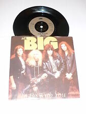"""MR BIG - To Be With You - Deleted 2-track UK 7"""" Vinyl Single"""
