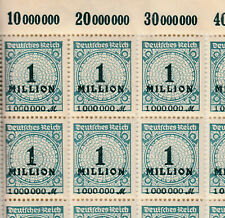 Briefmarken Deutsches Reich Michel 314A   1 Bogen komplett 100 Stk ** <<<<<<<<<<