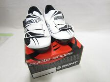 NEW Bont A-One Cycling Road Shoe Euro 38.5 Black/white hand made carbon 6.5