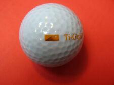Pelota de golf con logo-pirámide ti Gold-golf logotipo pelota talismán recuerdo regalo