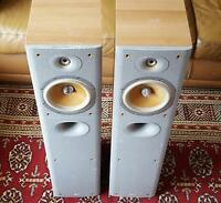 Bowers and Wilkins B&W DM602.5 S3 Floor standing Speakers - needs attention