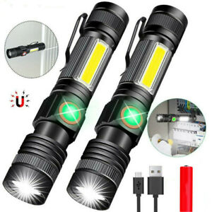 Strong Light Aluminum Alloy EX T6 Flashlight Outdoor Strobe Light Torch Lanterns