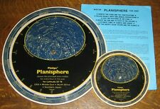 2x Vintage PHILIPS Planisphere (for lat 32 North which is USA ME N.AFR S.JAPAN)