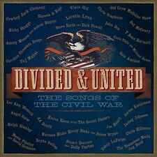 NEW Divided & United: The Songs Of The Civil War [2 CD] (Audio CD)