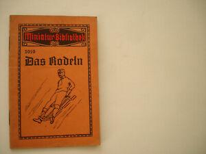 Rodel Rodeln Bob Schlitten Art Skeleton-Bahn Abb. Wintersport~1925