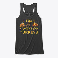 Teacher Thanksgiving 6th Grade Bella Flowy Tank Tanktop