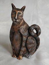 "MARSHA McCARTHY Cat Statue 5 3/4"" Tall"