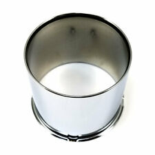 "Excalibur 112 Wheel Rim Center Hub Cap Chrome 5.12""Hub 5-1/2""OD 8x6.5 Open"