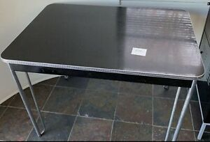 Wolfgang Hoffman For Howell Dining Table Formica Top & Chrome Legs - All Orig.
