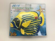 Shower Radio Fish Am Fm Emergency Alarm Water Resistant