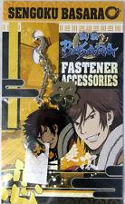 Sengoku Basara Keiji Metal Fastener Charm Anime Manga NEW