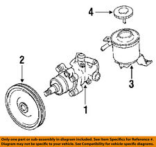 TOYOTA OEM 89-95 Pickup-Power Steering Pump 4432035241