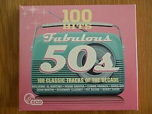 Fabulous 50s - 100 Classic Tracks of The Decade  5CDs