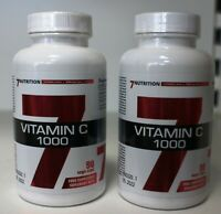 Vitamin C 1000 von 7Nutrition 180x1000mg Immunsystem Stärken Vegan Kapseln