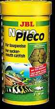 JBL NovoPleco 100ml - Novo Pleco Tabs in Original Catfish