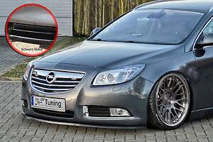 Spoilerschwert Frontspoiler Lippe aus ABS Opel Insignia mit ABE schwarz glänzend