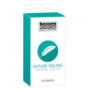 Secura Kondome Nature Feeling Ultra Thin x24 Condoms Fast And Free Delivery