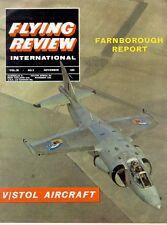 FLYING REVIEW NOV 64 WW1 ALBATROSS D.V_V/STOL ACFT_F-111B TFX_WW2 FFVS J22 FLYIN