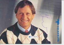 Franz Klammer  AUT  Ski Alpin Autogrammkarte original signiert 384716