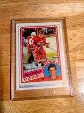 OPC autographed Steve yzerman playing card