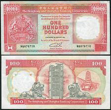 Hong Kong 100 Dollars 1991 P198c EF+ (HSBC)