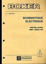 (120) MANUEL ATELIER RÉPARATION PEUGEOT BOXER Schémas électriques Modèles 1995