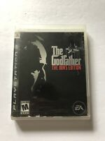 The Godfather Don's Edition Sony Playstation 3 PS3 COMPLETE (EA, 2007) Disc VG