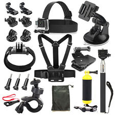 Outdoor sports Accessories Kit for Gopro hero6 5 session 5 4 3+ hero 3 hero 2 H9