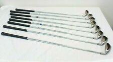 Callaway Big Bertha Irons (2002) Uniflex Steel Shafts - x8 Golf Clubs - CLEANED