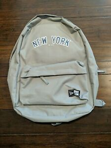 New York Yankees Season Ticket Holder Exclusive Gray New Era Backpack