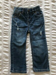 Toddlers Boys 24 Months Blue Levi's Strauss Denim 514 Straight Jeans Kids Pants