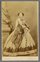 1862 CDV photograph of Princess Alice Queen Victoria's daughter British royalty