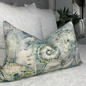 Voyage Maison Fabric LANGDALE, TEAL Rectangle Cushion Cover Countryside Decor