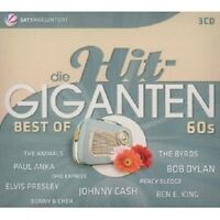 DIE HIT GIGANTEN-BEST OF 60'S (3 CD) ELVIS PRESLEY NEU
